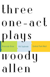 Three One-Act Plays Cover