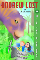Andrew Lost #11: With the Dinosaurs Cover