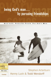 Being God's Man by Pursuing Friendships Cover