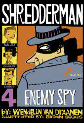 Shredderman: Enemy Spy Cover