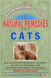The Veterinarians' Guide to Natural Remedies for Cats Cover