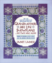 Grandmothers Are Like Snowflakes...No Two Are Alike Cover