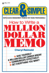 How to Write a Million Dollar Memo Cover