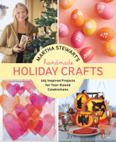 Martha Stewart's Handmade Holiday Crafts Cover