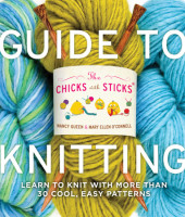 The Chicks with Sticks Guide to Knitting Cover
