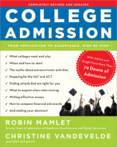 College Admission Cover