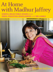 At Home with Madhur Jaffrey Cover