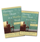 Having a Mary Heart Participant's Guide with DVD Cover