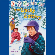 A to Z Mysteries: The Lucky Lottery Cover