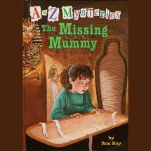 A to Z Mysteries: The Missing Mummy Cover