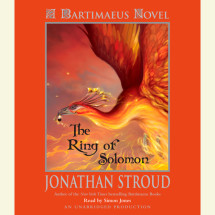 The Ring of Solomon: A Bartimaeus Novel Cover