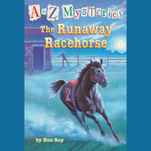 A to Z Mysteries: The Runaway Racehorse Cover