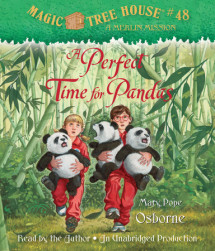 Magic Tree House #48: A Perfect Time for Pandas Cover