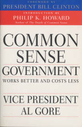 Common Sense Government Cover