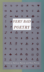 Very Bad Poetry Cover