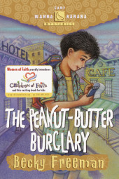 The Peanut-Butter Burglary Cover