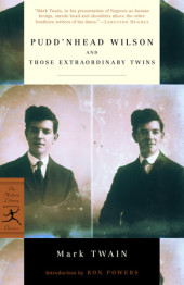 Pudd'nhead Wilson and Those Extraordinary Twins Cover