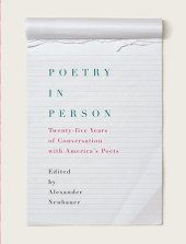 Poetry in Person Cover