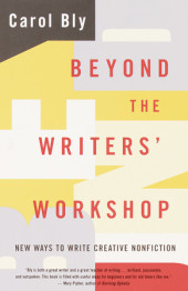 Beyond the Writers' Workshop Cover