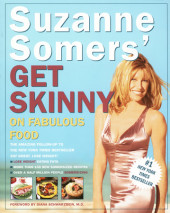 Suzanne Somers' Get Skinny on Fabulous Food Cover