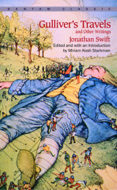 Gulliver's Travels and Other Writings Cover