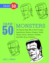 Draw 50 Monsters Cover