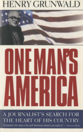 One Man's America Cover