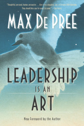 Leadership Is an Art Cover
