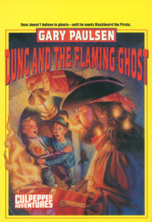 DUNC AND THE FLAMING GHOST Cover