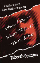 And I Don't Want to Live This Life Cover