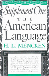 American Language Supplement 1 Cover
