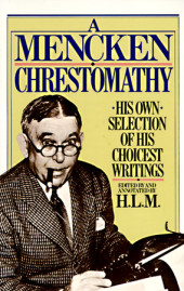 Mencken Chrestomathy Cover