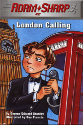 Adam Sharp #2: London Calling Cover
