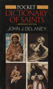 Pocket Dictionary of Saints Cover