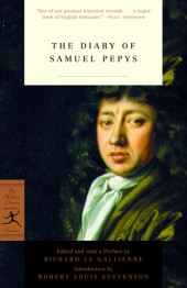 The Diary of Samuel Pepys Cover