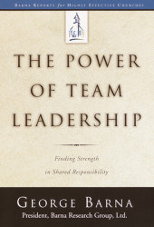 The Power of Team Leadership Cover