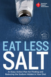 American Heart Association Eat Less Salt Cover