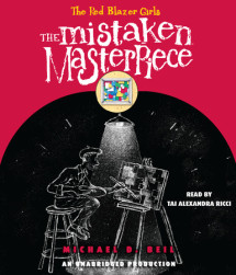 The Red Blazer Girls: The Mistaken Masterpiece Cover
