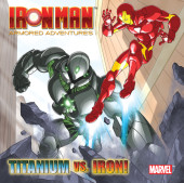 Titanium Vs. Iron! (Marvel: Iron Man) Cover