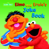 Elmo and Ernie's Joke Book (Sesame Street) Cover