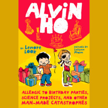 Alvin Ho: Allergic to Birthday Parties, Science Projects, and Other Man-made Cat Cover