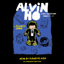 The Alvin Ho Super Collection: Books 1-4 Cover