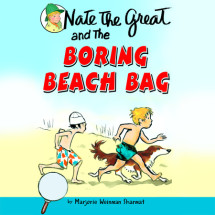 Nate the Great and the Boring Beach Bag Cover
