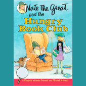Nate the Great and the Hungry Book Club Cover