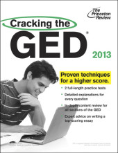 Cracking the GED, 2013 Edition Cover