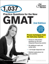 1,037 Practice Questions for the New GMAT, 2nd Edition Cover