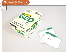 Essential GED (flashcards)