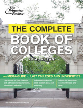 The Complete Book of Colleges, 2013 Edition Cover