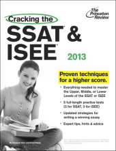 Cracking the SSAT & ISEE, 2013 Edition Cover