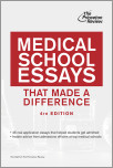 Medical School Essays That Made a Difference, 4th Edition
